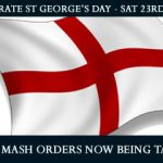 St Georges Day pie n mash