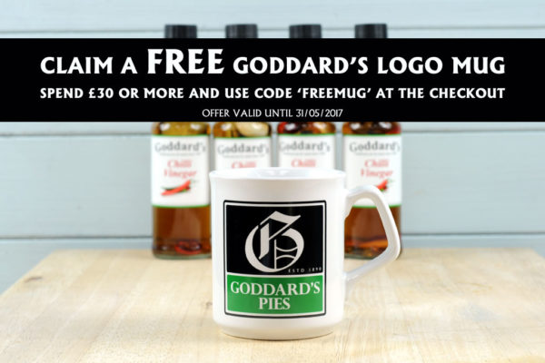 Free Goddards logo mug