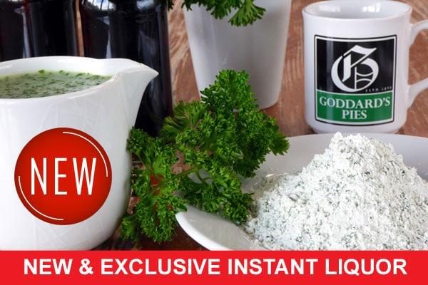 Goddards exclusive instant liquor