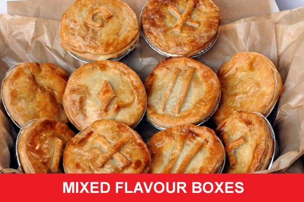 Mixed pie flavour box