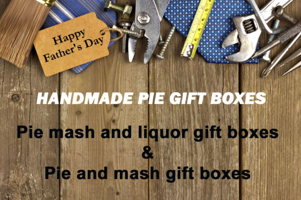 Fathers Day pie gift boxes