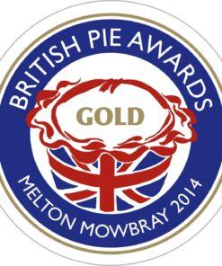 British Pie Awards 2014 Gold Winner