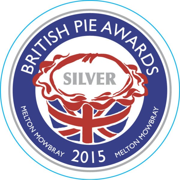 British Pie Awards 2015 Silver Winner