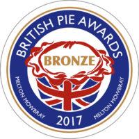 British Pie Awards 2017 Bronze Winner