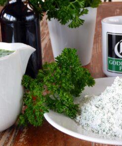 Instant parsley liquor