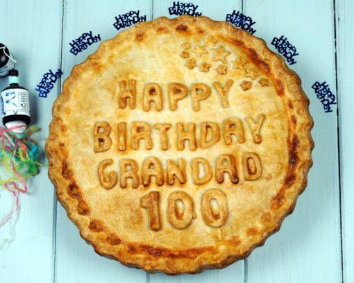 Personalised celebration pie