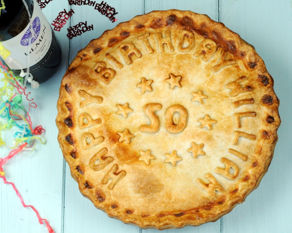 Personalised Hand Made Celebration Pies