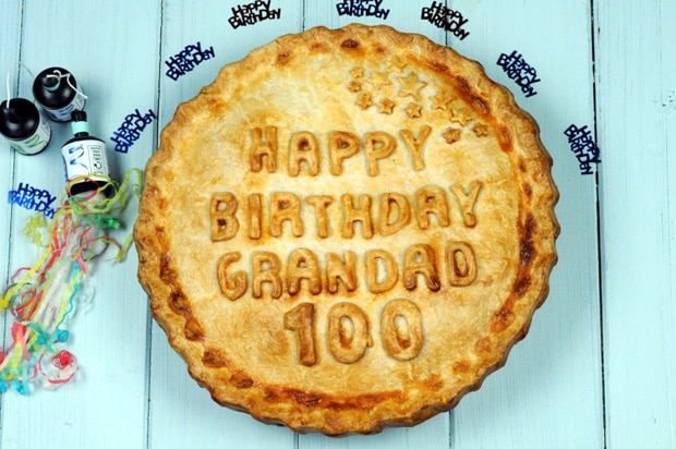 Personalised Hand Made Celebration Pies Now Available