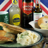 Fathers Day pie mash and liquor box