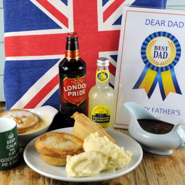 Fathers Day pie box