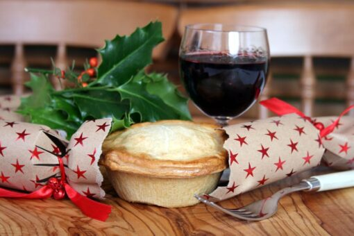 Turkey and stuffing pie