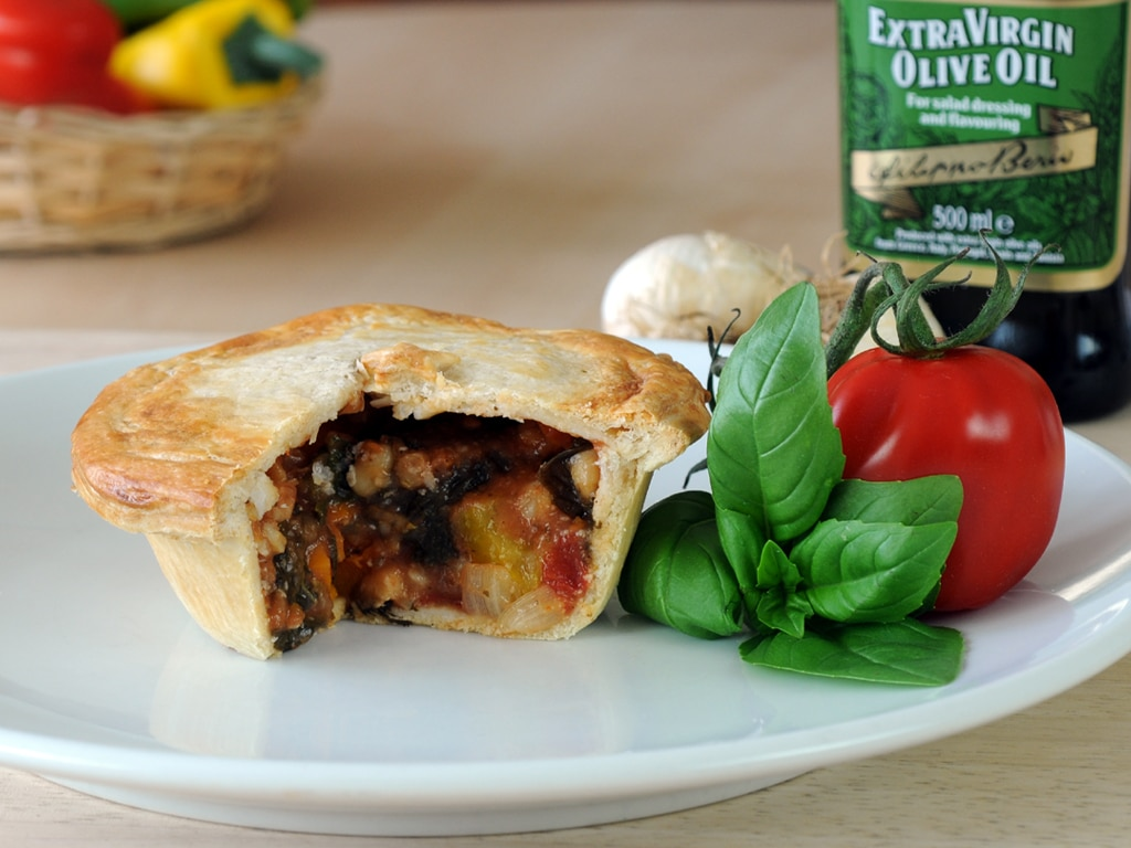 Tuscan bean vegan pie