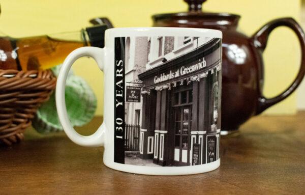Goddards 130 years mug
