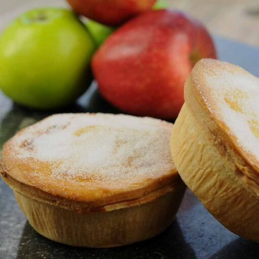 Handmade fruit pies