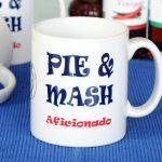 Pie and mash aficionado mug